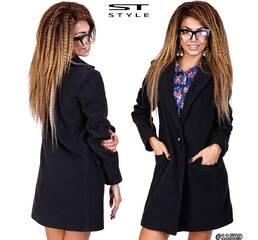 Пальто 11529 (черный)