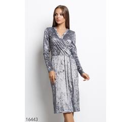 Женское платье 16443 светлый серый