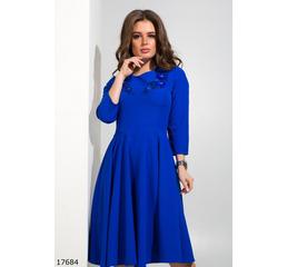 Женское платье 17684 электрик