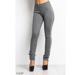 Женские брюки 16249 серый