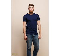 Мужская футболка 15131 темный синий