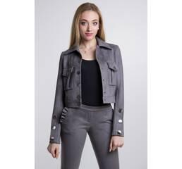 Куртка Odri (темно серый)