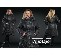 Пальто - 17851 (черный)
