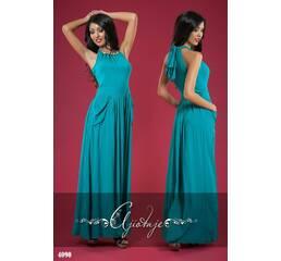 Платье - 4090 (морской волны)