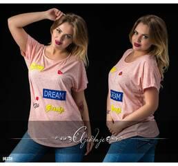 Футболка - 10338 (розовый)
