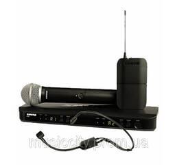 Shure BLX1288EP31 радіосистема UHF двухкональн з ручним PG58 і з головним мікрофоном PGA31