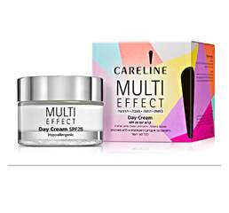 Дневной крем для лица и шеи SPF 25 «Мульти эффект» Careline Multi Effect Day Cream SPF25