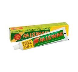 Зубная паста натуральная без фтора Miswak 170г