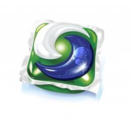 Зручно для подорожей Капсули для прання Ariel 3в1 універсальні, 1 капсула в упаковці, Німеччина
