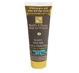Интенсивный крем для рук и ногтей на основе грязи Мёртвого моря Health & Beauty Intensive Dlack Mud Hands & Nails Cream