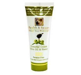 Інтенсивний крем для тіла на основі оливкової олії і меду Health & Beauty Powerful Cream Olive Oil & Honey 100 мл