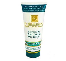 Крем-дезодорант для ніг з охолоджуючим ефектом Health & Beauty Refreshing Foot Cream Deodorant