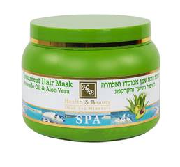 Оздоравливающая маска для волос с маслом авокадо и алоэ Health & Beauty Avocado Oil & Aloe Vera Hair Mask 250 мл.