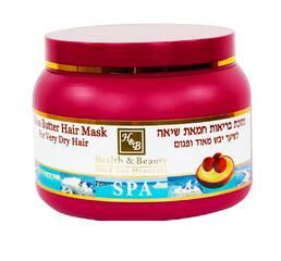 Маска для очень сухих волос с маслом Ши Health & Beauty Shea Butter Hair Mask 250 мл.