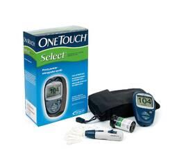 Прибор для измерения сахара (глюкометр) OneTouch Select