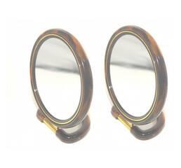 Зеркало двухстороннее овальное №4  (Высота - 10см, Ширина 7см)