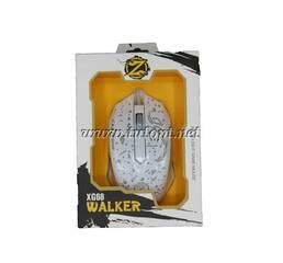 Мышь Zornwee Walker XG68 Black Light Game Mouse