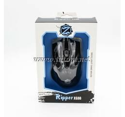 Мышь Zornwee Ripper XG66 Black Light Game Mouse