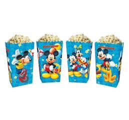 Коробки для солодощів і попкорна Микки Маус (5 штук)