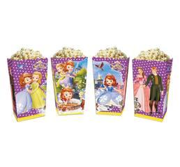 Коробки для солодощів і попкорна принцеса Софія (5 штук)