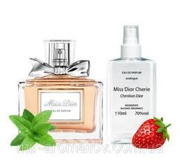 """Жіночі духи на розлив  Christan Dior """"Miss Dior Cherie""""  №23  100мл"""