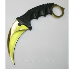 Нож керамбит Counter Strike GO, золотой