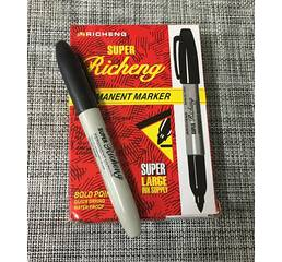 Маркер чорний Super Richeng / 9900