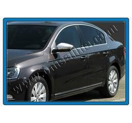 Накладки на зеркала (2 шт., нерж.) - Volkswagen Passat B7 2012-2015 гг. купить в Ивано-Франковске