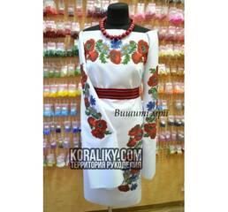 (0000110601) Женская заготовка платья