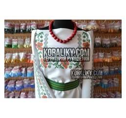 (0000110032) Женская заготовка сорочки