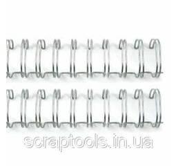 Пружина для биндера Cinch Wires 2,54см - Silver