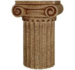 Ваза керамическая Капитель и Колонна Напольная