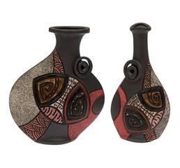 Вазы керамические Бутыль