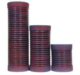 Вазы керамические Труба