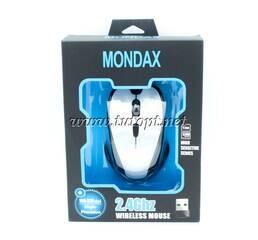 Мышь Mondax Silver Black Light Mouse