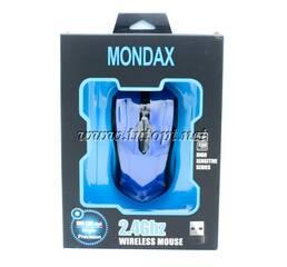 Мышь Mondax Blue Black Light Mouse