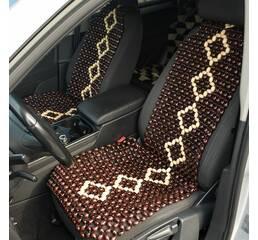 Деревянные массажные накидки для автомобиля