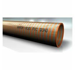 Всасывающе-транспортирующий шланг из ПВХ - PVC QUAD