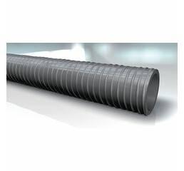 Канализационный отсасывающий шланг из ПВХ-BUNA, серый - PVC KANAL