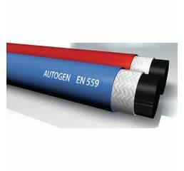 Сдвоенный автогенный шланг (синий + красный) - AUTOGEN-ZWILLING