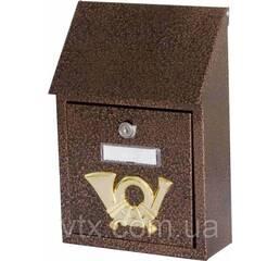 Поштова скринька ProfitM СП-2 185х275х70 Мідний антик, Фото