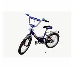 Велосипед Марс 16 р.гальмо+ексцентрик (синій/чорний)