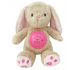Проектор музичний Кролик з лампою STK-18957 Pink