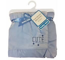 Одеяло SH-45551CL 80х110 blue
