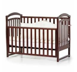 Ліжко дитяче Соня ЛД6 без колiс, на нiжках (горiх)