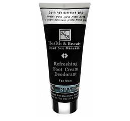 Крем-дезодорант для ног мужской Health & Beauty Refreshing Foot Cream Deodorant For Men