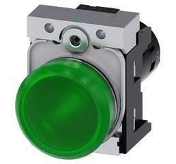 Световой индикатор, компактный, 22 мм, 3SU1251-6AF40-1AA0, Siemens