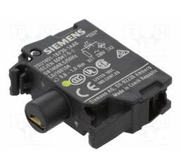 Модуль подсветки с интегрированным светодиодом 230В AC, жёлтый свет, 3SU1401-1BF30-1AA0, Siemens