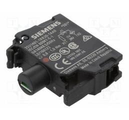 Модуль подсветки с интегрированным светодиодом 24В AC/DC, красный свет, 3SU1401-1BB20-1AA0, Siemens