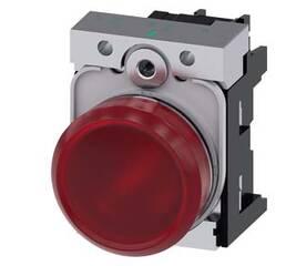 Световой индикатор, 22 мм, круглый, металлический глянцевый, 3SU1156-6AA20-1AA0, Siemens
